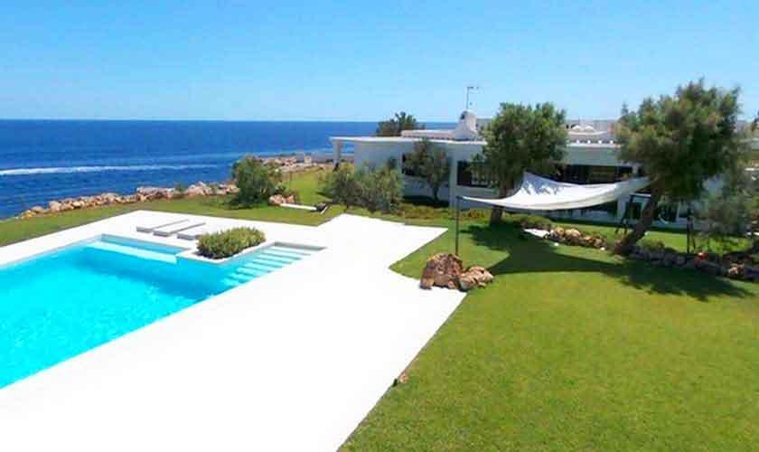 Pool und Meerblick Ferienvilla Mallorca PM 6578