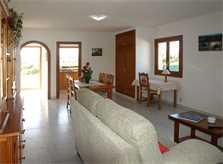Wohnraum Ferienwohnung Mallorca Porto Petro PM 6585