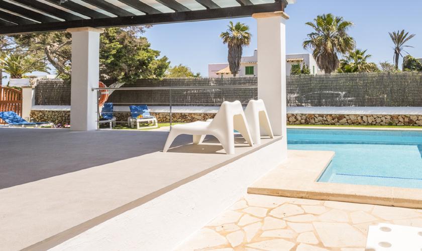 Pool und Terrasse Ferienvilla Mallorca PM 6589
