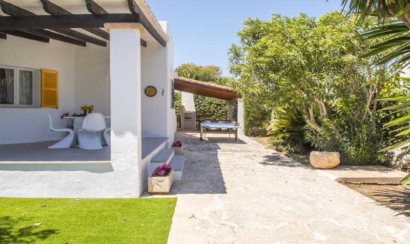 Terrasse Ferienhaus Mallorca 10 Personen PM 6589