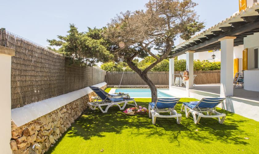 Garten Ferienhaus Mallorca 10 Personen PM 6589