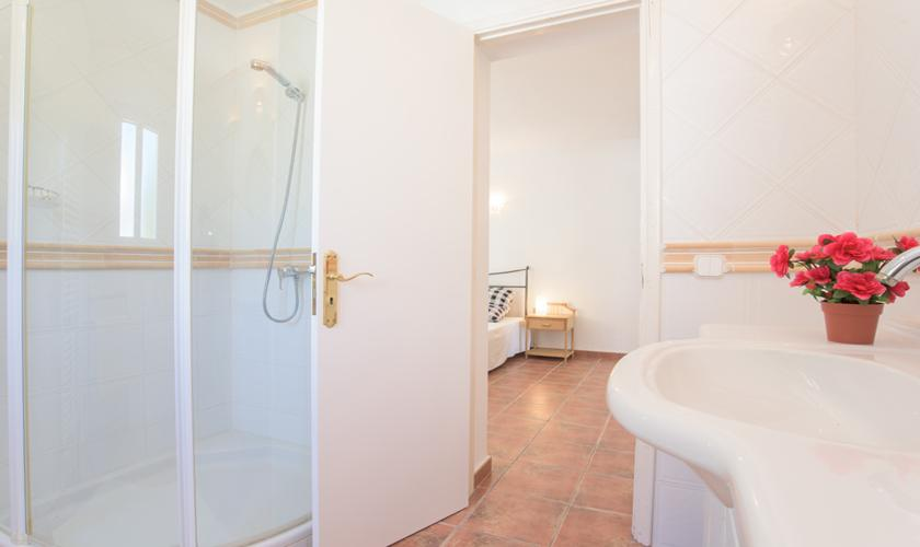 Badezimmer en suite Ferienvilla  Mallorca PM 6590