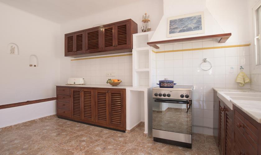 Küche Ferienvilla  Mallorca PM 6590