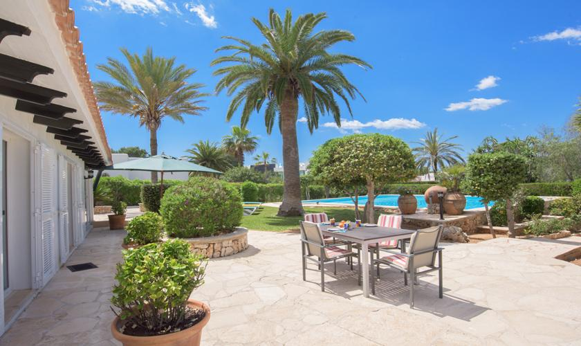 Terrasse Ferienhaus Mallorca PM 6590