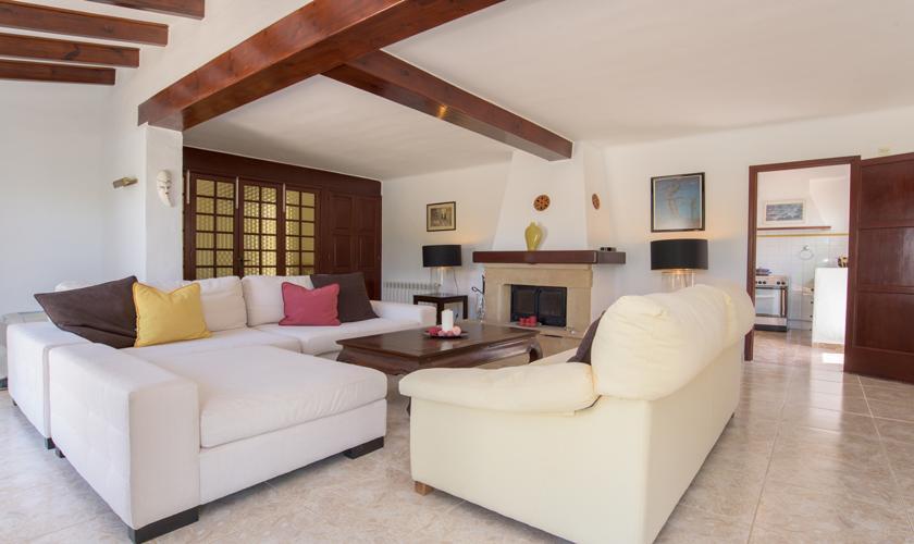 Wohnraum Ferienvilla  Mallorca PM 6590