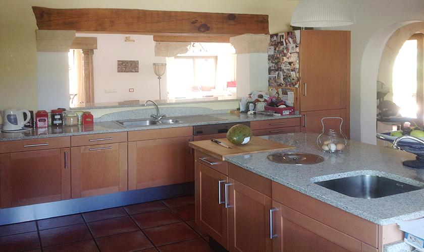 Küche Finca Mallorca 8 Personen PM 6591