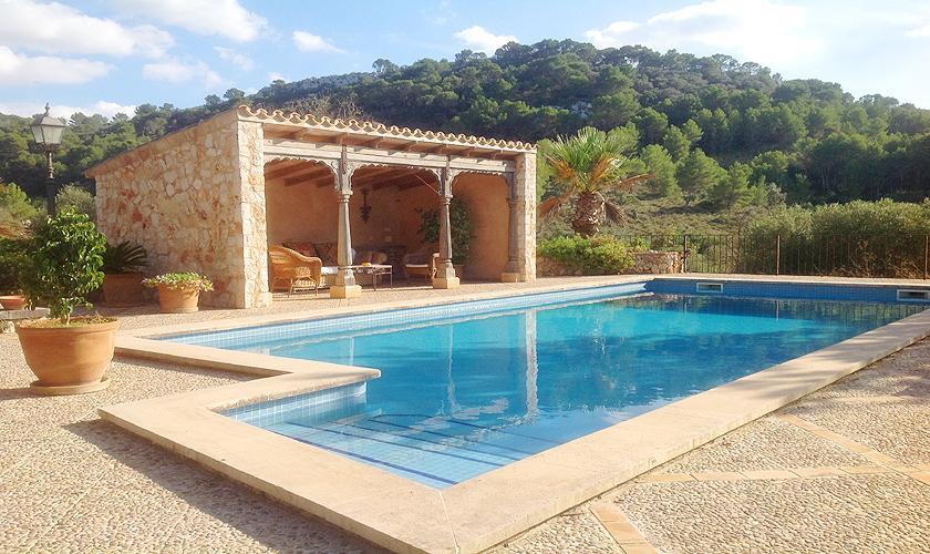 Pool und Cabana Finca Mallorca 8 Personen PM 6591