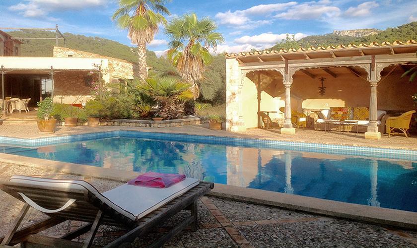 Poolblick Finca Mallorca 8 Personen PM 6591