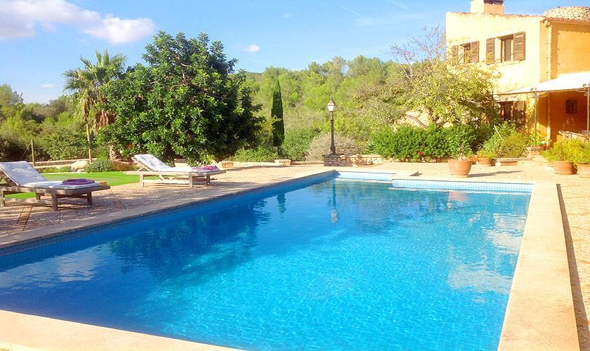 Pool und Finca Mallorca Südosten PM 6591
