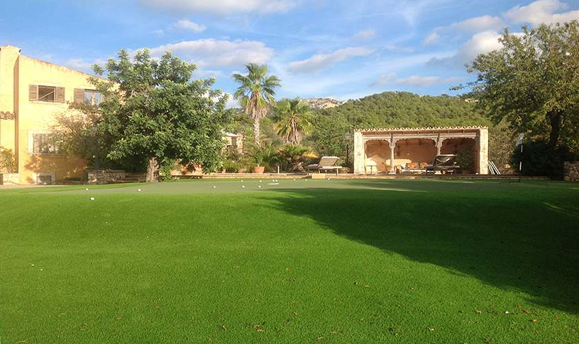 Rasenflächen Finca Mallorca 8 Personen PM 6591