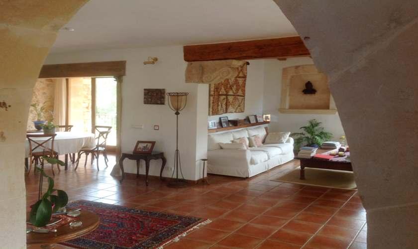 Wohnraum Finca Mallorca 8 Personen PM 6591