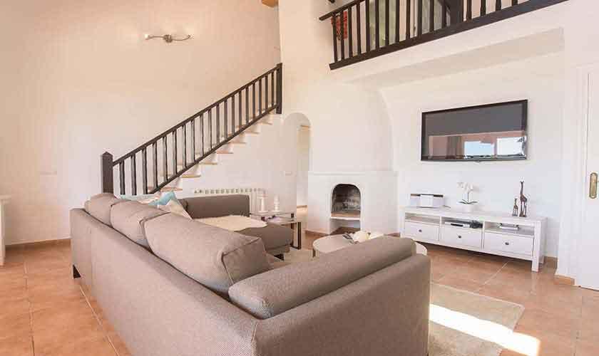 Wohnraum Ferienhaus Mallorca Südosten PM 6592