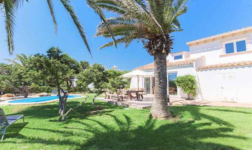 Garten Ferienhaus Mallorca 8 Personen PM 6592