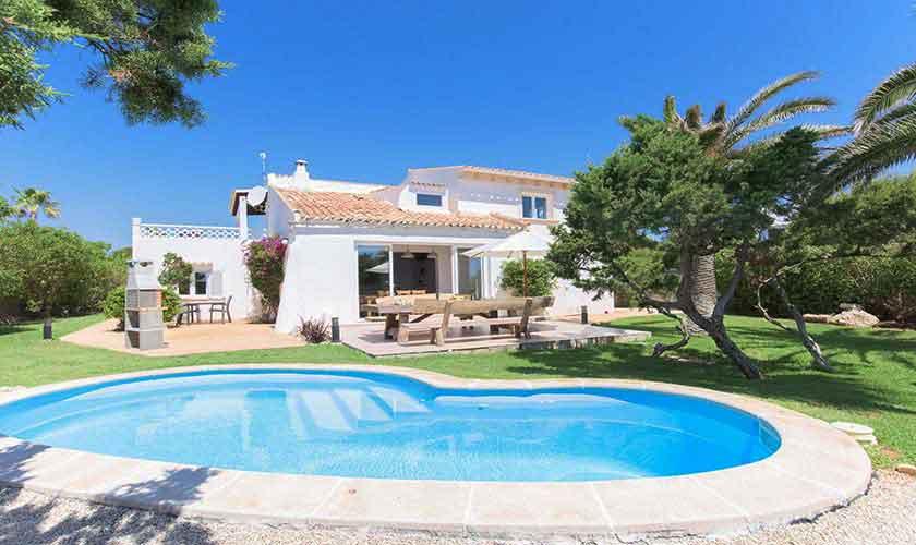 Poolblick und Ferienvilla Mallorca 8 Personen PM 6592