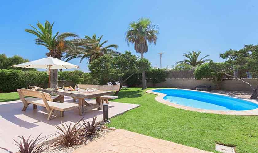 Pool und Garten Mallorca 8 Personen PM 6592