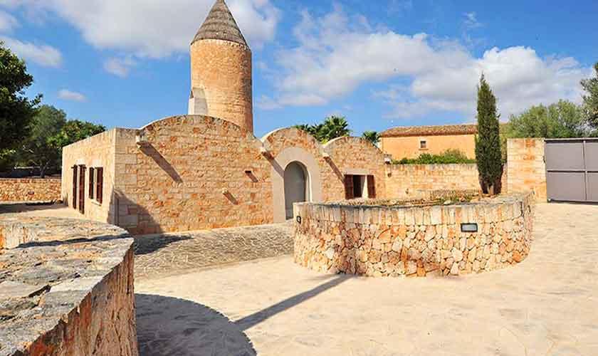 Blick auf die Finca Mallorca Süden PM 6594