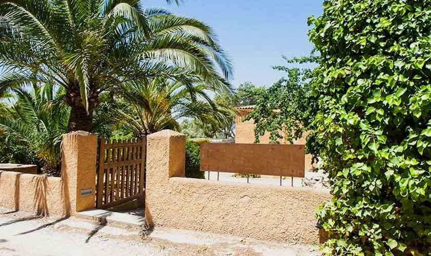 Eingang zur typischen Finca Mallorca Südosten PM 6595