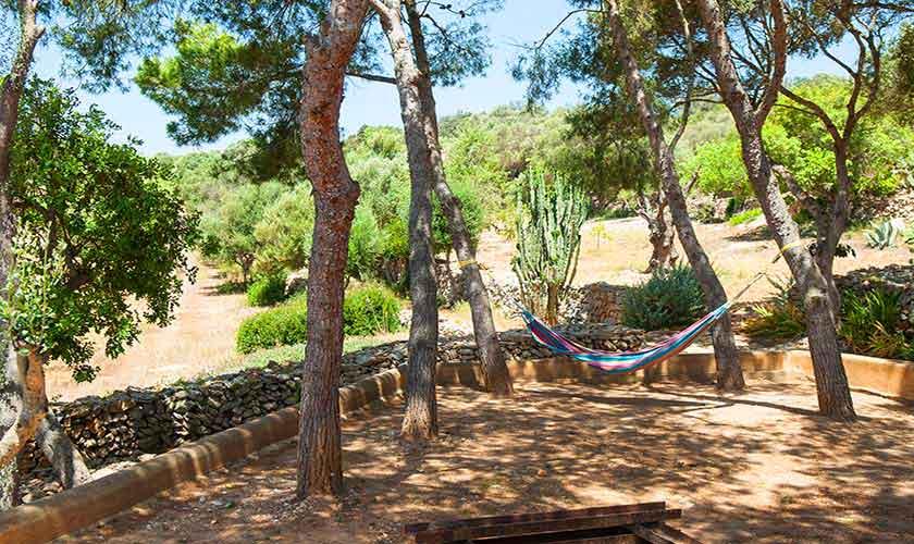 Garten Ferienhaus Mallorca Südosten PM 6595