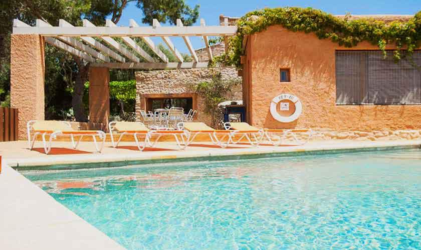 Pool und Terrasse Finca Mallorca Südosten PM 6595