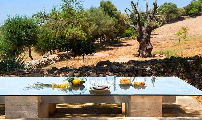 Terrasse Finca Mallorca Südosten PM 6595
