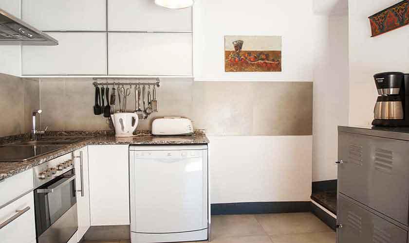 Küche Ferienfinca Mallorca 9 Personen PM 6595