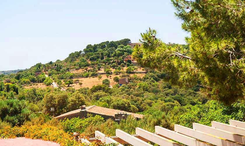 Blick von dem Ferienhaus Mallorca Südosten PM 6595