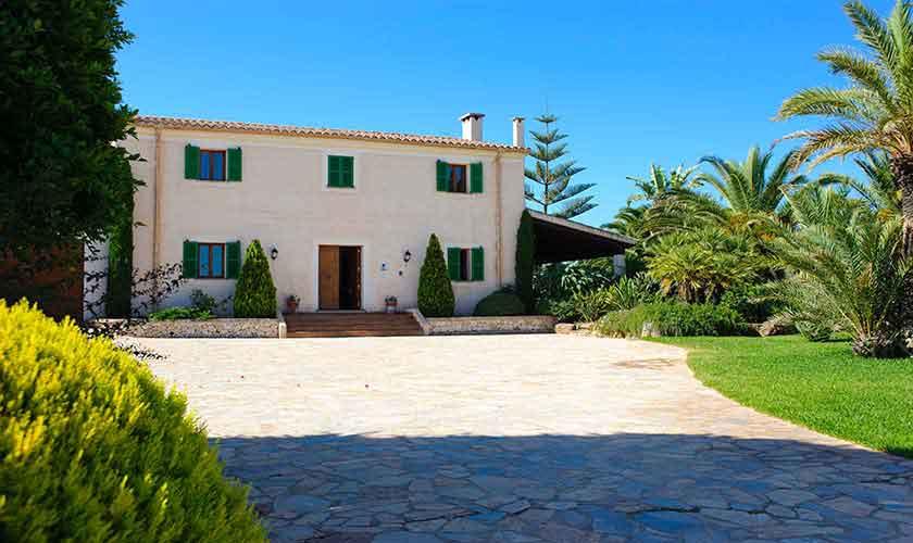 Blick auf die Finca Mallorca Ostküste PM 6596