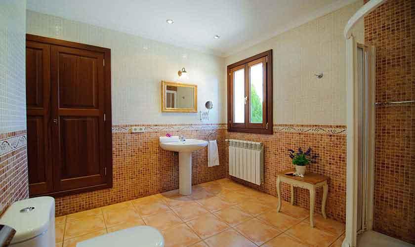 Badezimmer Finca Mallorca Ostküste PM 6596