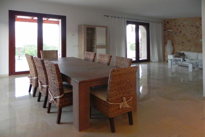 Essplatz Finca Mallorca für 8-10 Personen bei Felanitx PM 678