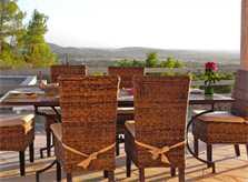 Terrasse Moderne Finca Mallorca für 8-10 Personen bei Felanitx PM 678