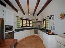Küche Ferienhaus Mallorca PM 6820