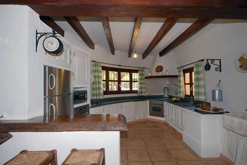 Küche Ferienhaus Mallorca Osten PM 6820