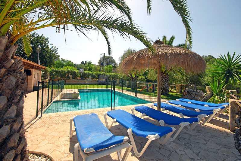 Poolblick Finca Mallorca Osten PM 6820