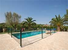 Pool und Wiese Finca Mallorca PM 6820