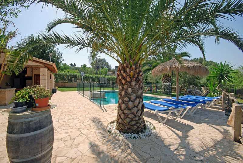 Pool und Terrassen Finca Mallorca PM 6820