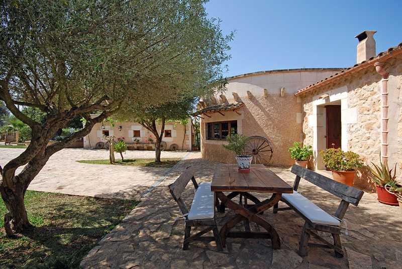 Terrasse Finca Mallorca PM 6820