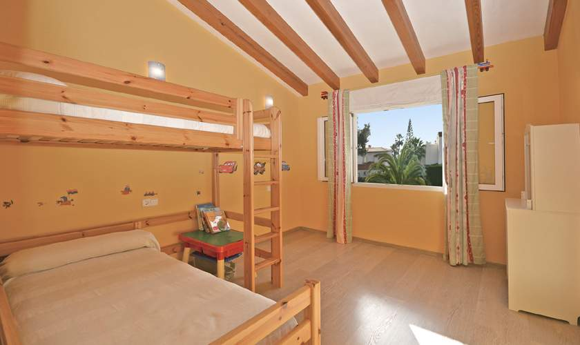 Etagenbetten Ferienhaus Mallorca Cala Pi PM 6940