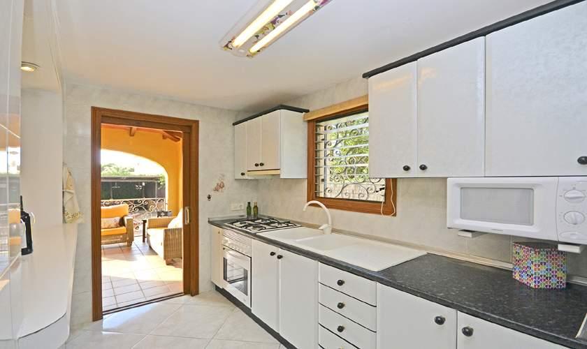 Küche Ferienhaus Mallorca Cala Pi PM 6940