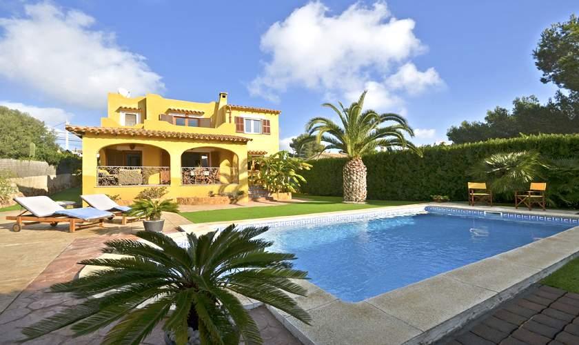 Pool und Ferienhaus Mallorca Cala Pi PM 6940