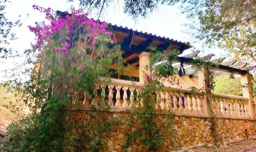 Blick auf die Finca Mallorca Süden PM 6950