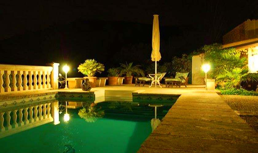 Pool abends Finca Mallorca 4 Personen PM 6950