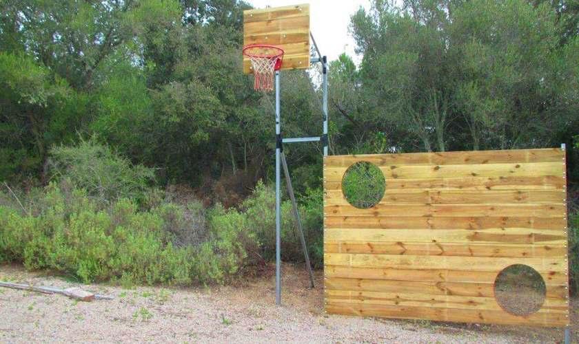 Basketballkorb und Torwand Finca Mallorca PM 6950