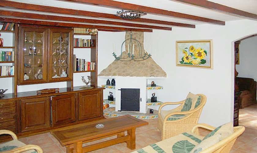 Wohnraum Finca Mallorca Süden PM 6950