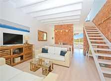 Wohnraum Ferienhaus Mallorca bei Sa Rapita PM 6960