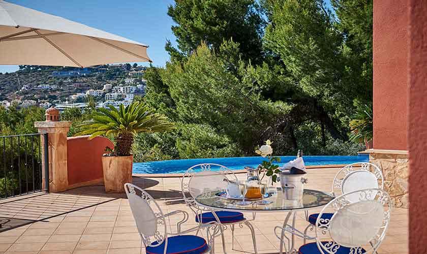 Terrasse Ferienhaus Mallorca PM 103 Nr. 68b