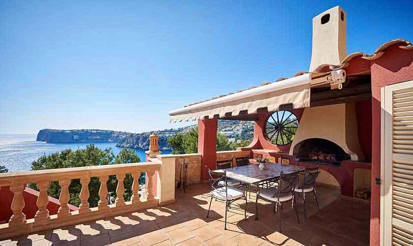 Terrasse und Meerblick Ferienhaus Mallorca Westküste PM 103 Nr. 70C