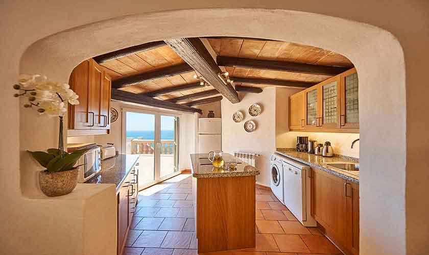 Küche Ferienhaus Mallorca Westküste PM 103 Nr. 70C