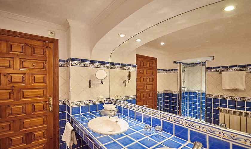 Badezimmer Ferienhaus Mallorca Westküste PM 103 Nr. 70C