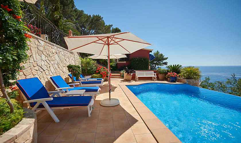 Gemeinsamer Pool Ferienhaus Mallorca Westküste PM 103 Nr. 70b