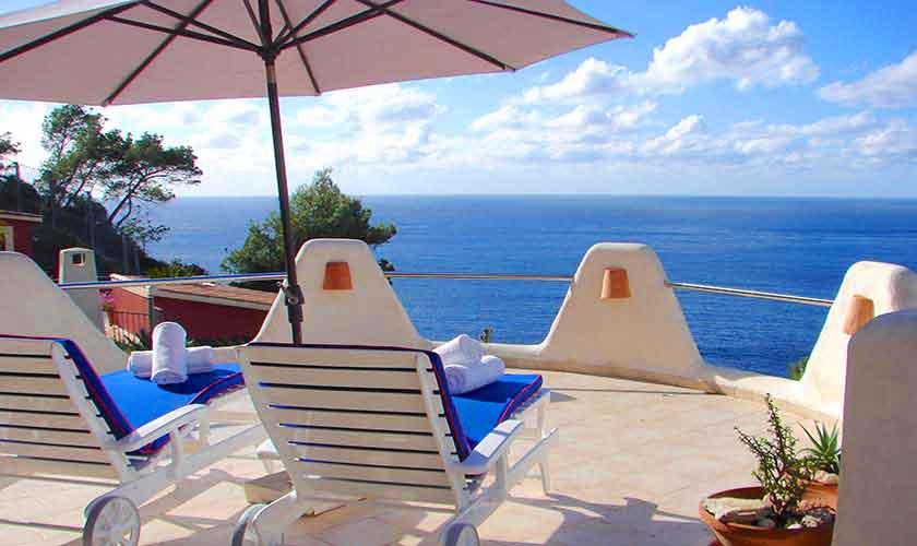 Terrasse mit Meerblick Mallorca PM 103 Nr. 72 B